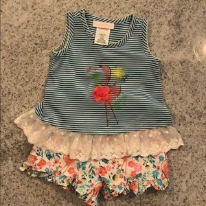 Bonny Baby Matching Top and Shorts Set